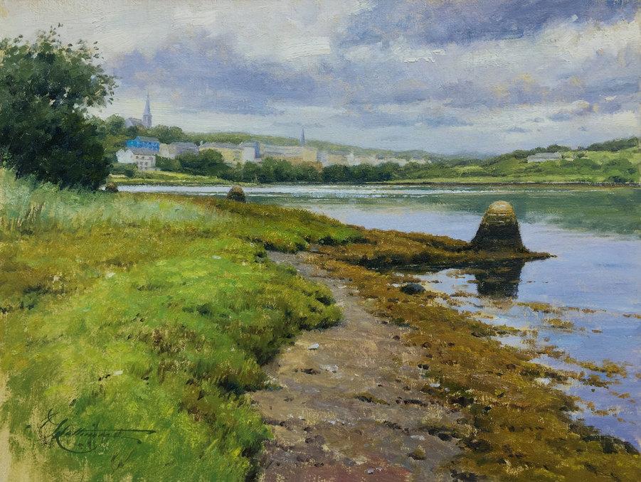 Low Tide in Clifden (Ireland)