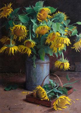 Barnside Sunflowers