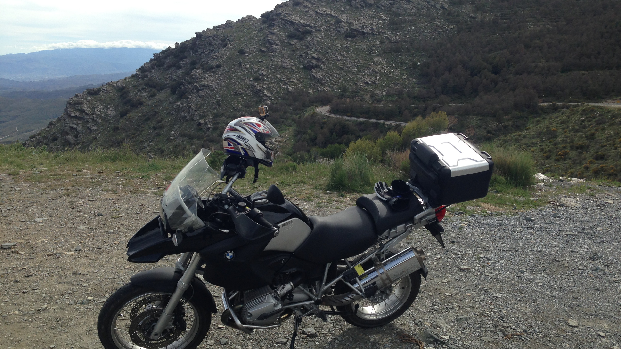 One of the BMW Motorrad's available to hire