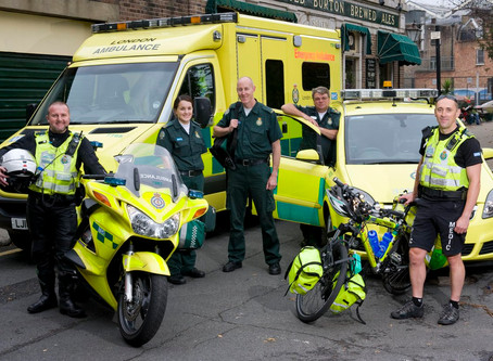 Free Motorcycle Tours for all Healthcare and Emergency Workers