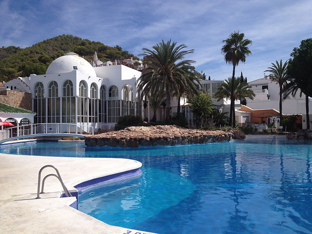 Pool at San Juan de Capistrano, Nerja