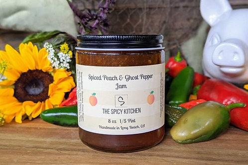 Peach & Ghost Pepper Jam