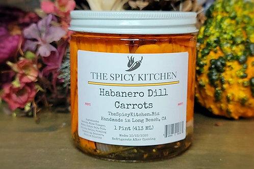 Habanero Dill Carrots