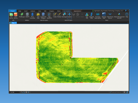 Exploring Precision Data in ArcGIS Pro with the Ag-Analytics Add-In