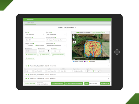 Use the Precision Acreage Reporting System™ for Free This Spring!