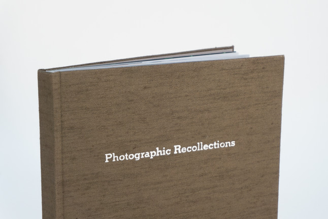 PHOTOGRAPHIC RECOLLECTIONS