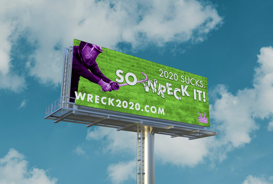 Wrecking Ballers Billboard - Green