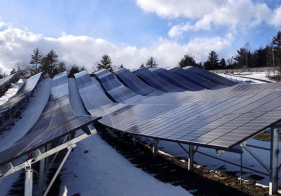 The Town & Village of Essex, Town of Berlin save with solar from Green Lantern Solar array in Essex