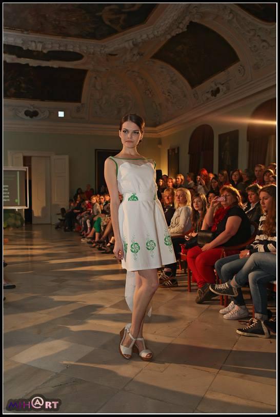 Fashion Show in castle