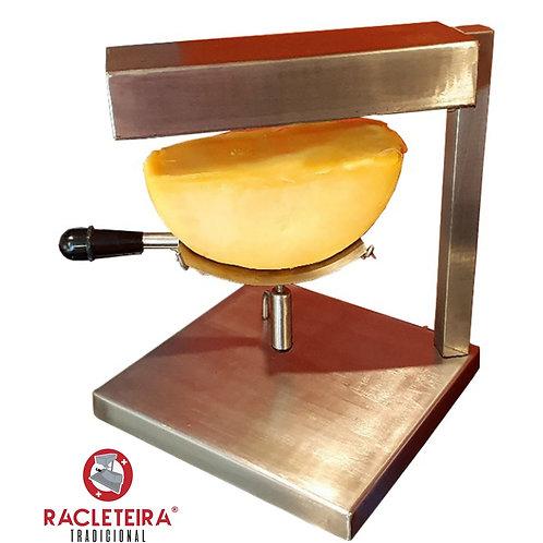 Racleteira Raclette de mesa um queijo 110V, aço inoxidável 1200W Savoie