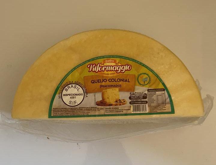 Queijo Colonial 2,5kg