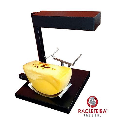 Racleteira Raclette de mesa preta , 600 W,  1 queijo 220V