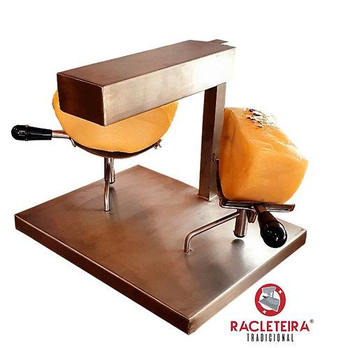Racleteira Raclette Dois Queijos 1200W Savoie 110V Inox