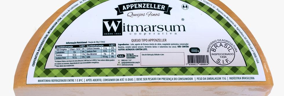 Queijo tipo Apenzeller Witmarsum - Meia Lua 3,25kg