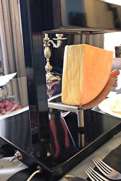 Raclette Vallais 1200 W-Cor Preta + Queijo