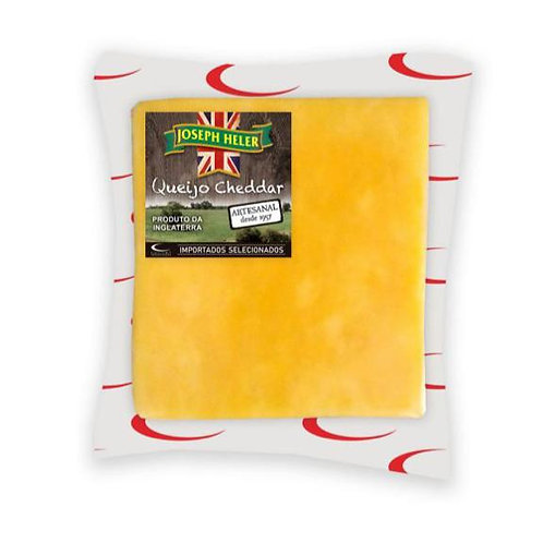 Cheddar Fracionado Mild  Inglês Joseph Heller embalagem de  150g - caixa com 12