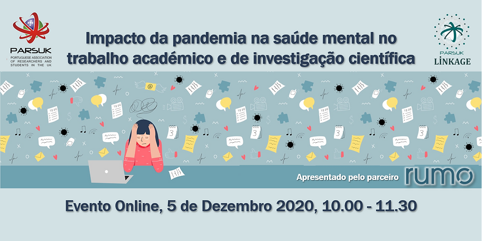 Impacto da pandemia na saúde mental no trabalho académico e de investigação científica