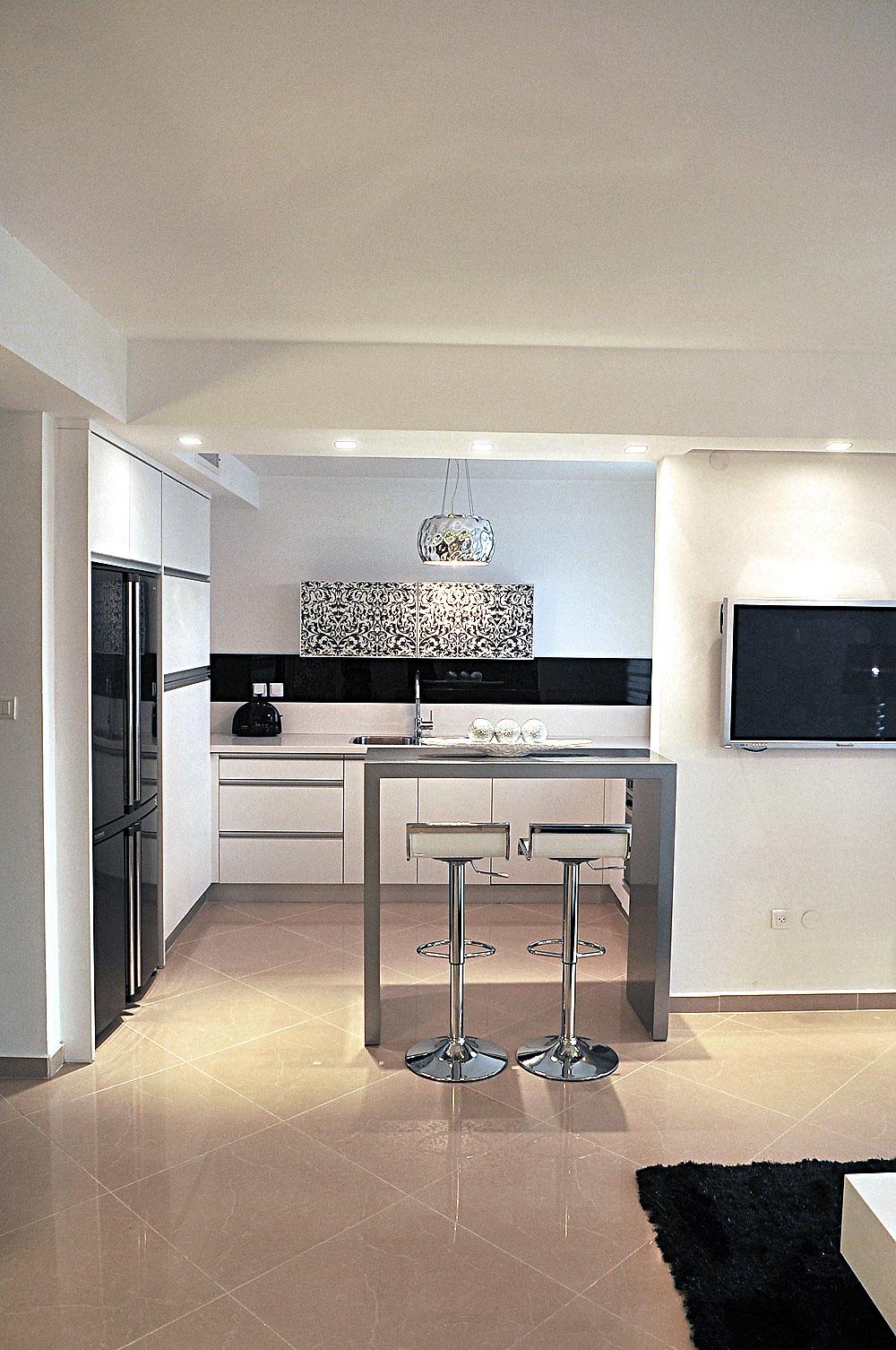 חלל המטבח