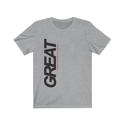 Consistent Hard Word Leads to Success Short Sleeve Tee