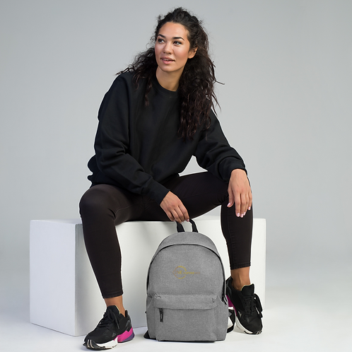 One Experience Embroidered Backpack