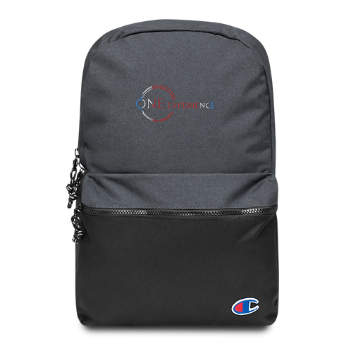One Experience Embroidered Champion Backpack