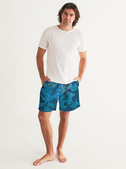 Men's FYC Ocean Camo Swim Shorts UPF 40 W/Lining