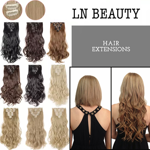 Curly Wavy Hair Extensions Lexi Noel Beauty