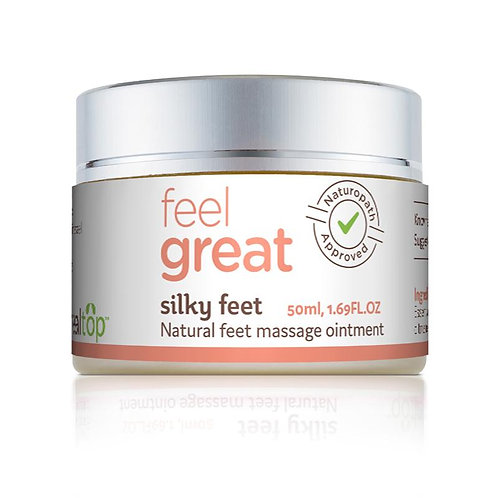 Silky Feet - All Natural Feet Massage Ointment