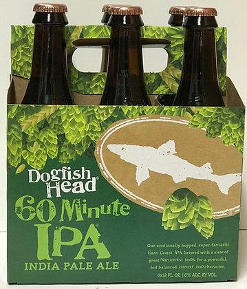 Dogfish Head IPA 60 Mts 6 Pk Bottles
