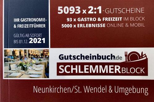 Schlemmerblock 2021 Neunkirchen/St. Wendel & Umgebung