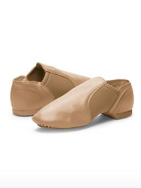 Adult Tan Jazz Shoes