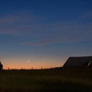 Visite de la Comète NEOWISE