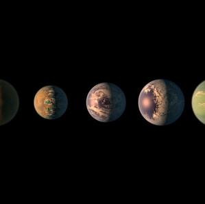 Sept nouvelles exoplanètes