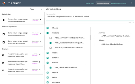 Legal Website, Hierarchy View