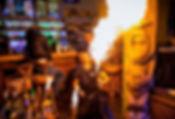 бармен шоу с огнем