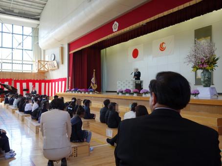 宮田小学校と宮田中学校の入学式