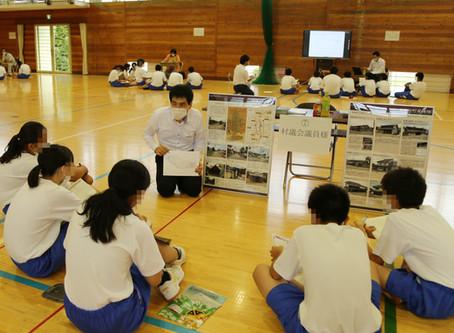 宮田中学校の総合的な学習に参加(2回目)