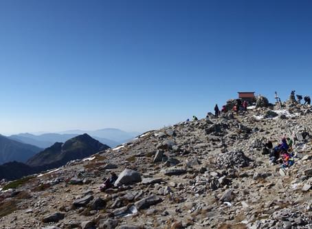 駒ヶ岳山頂一帯と宝剣岳