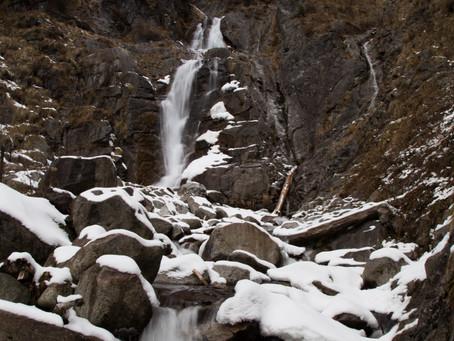 中御所谷の雪化粧