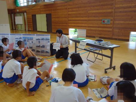 宮田中の総合的な学習に講師として参加