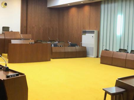 宮田村議会の正副議長選挙