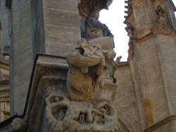 Gargojl - Cerkev Sv. Barbare