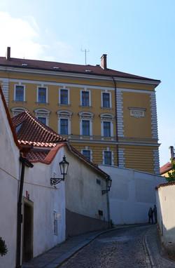 Hišica, Hradčani