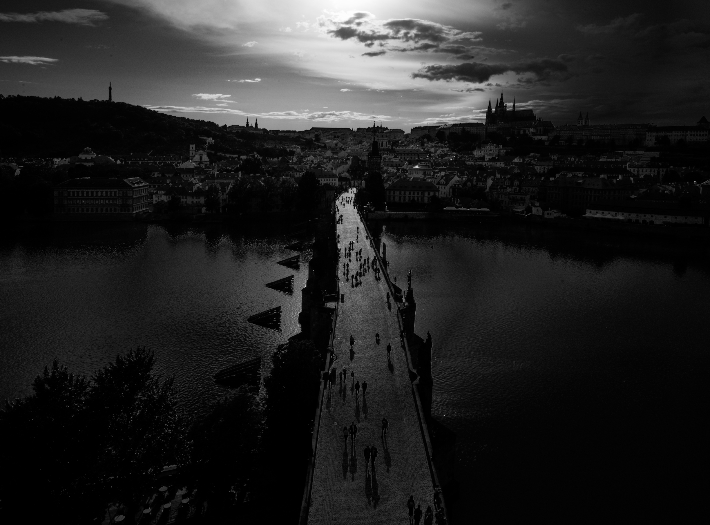 Charles Bridge and Hradčany