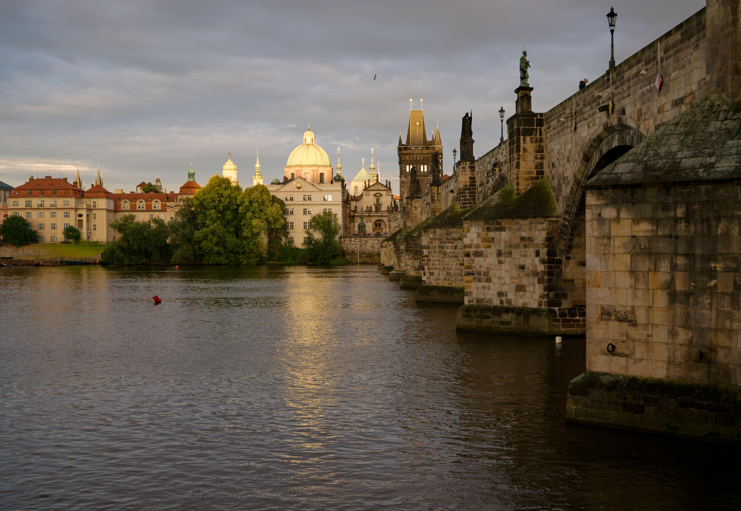 Charles Bridge, Church of St Francis Seraph