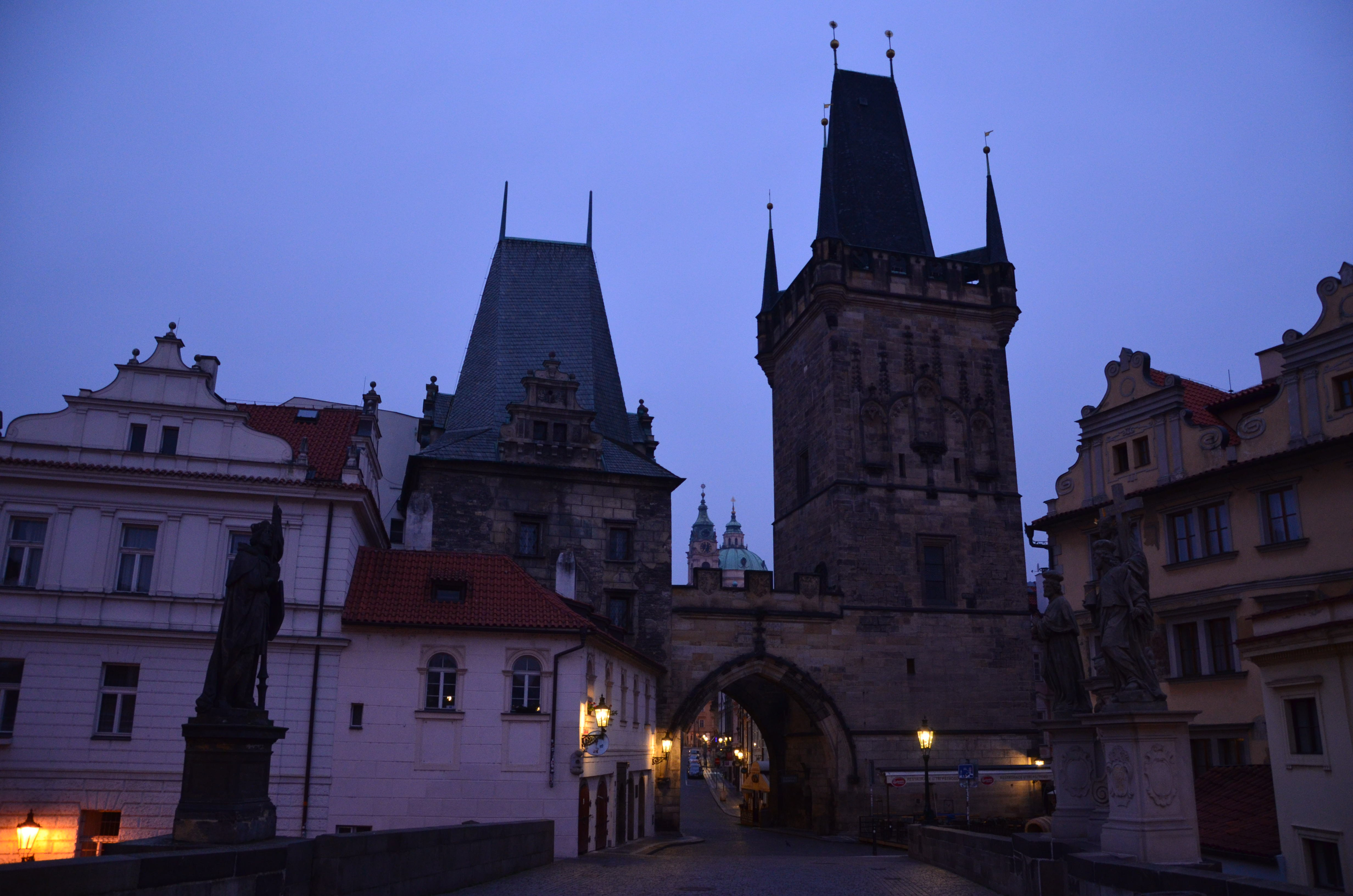 Towers of the Charles Bridge