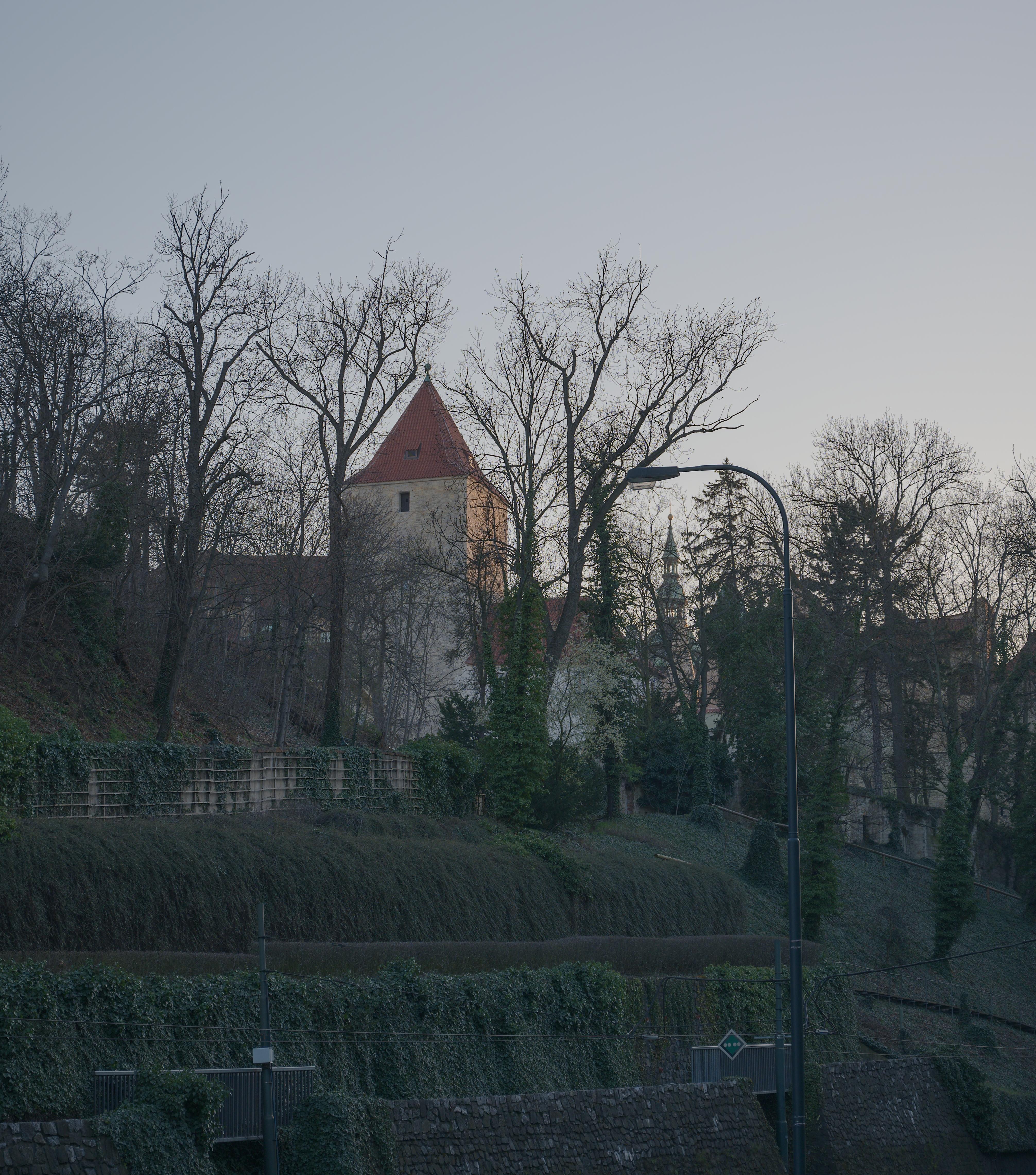 Černá věž na Pražském hradě