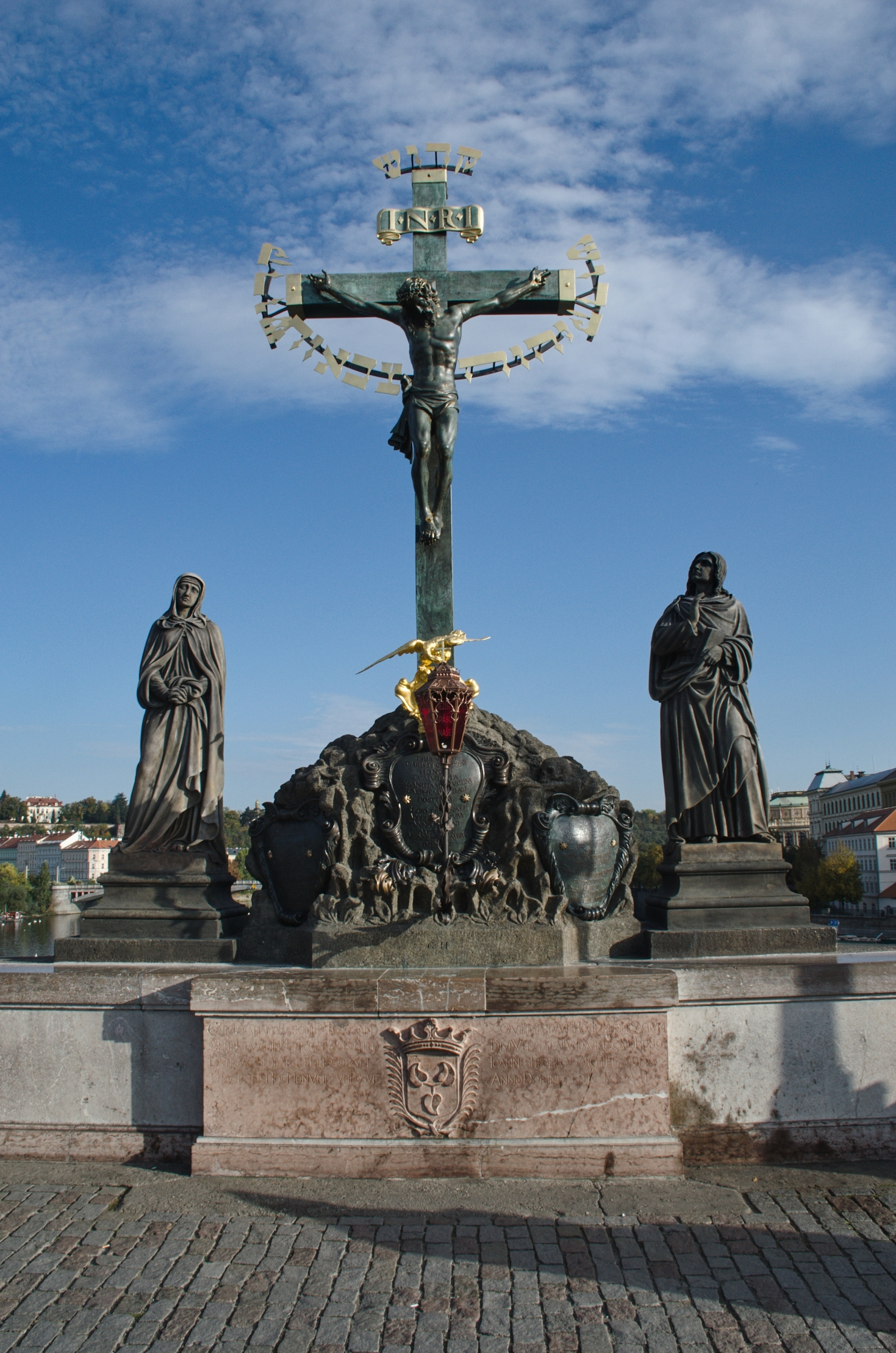 Statuary of the St. Cross with Calvary