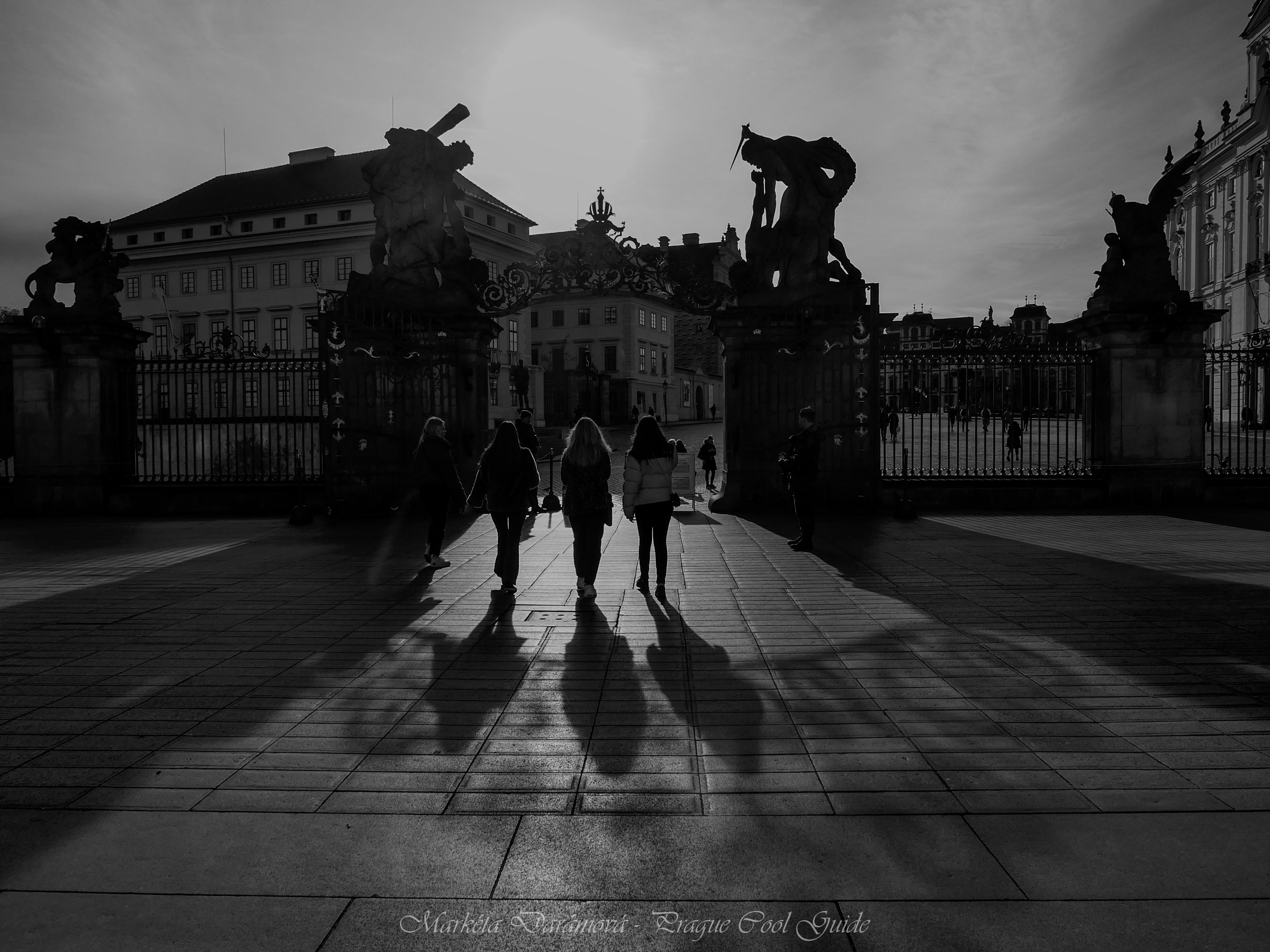 Nádvoří Pražského hradu