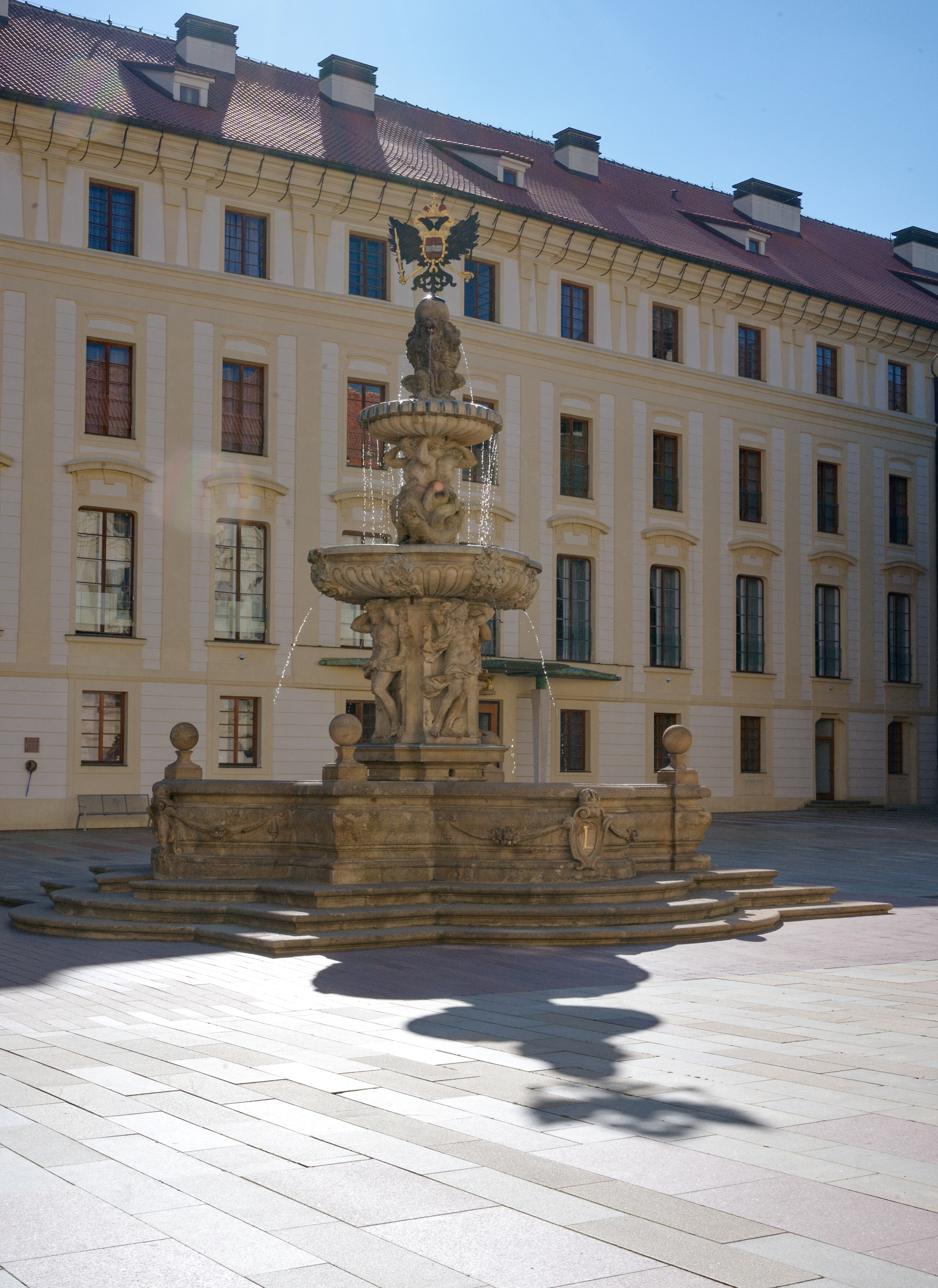 Kohl´s Fountain, Prague Castle
